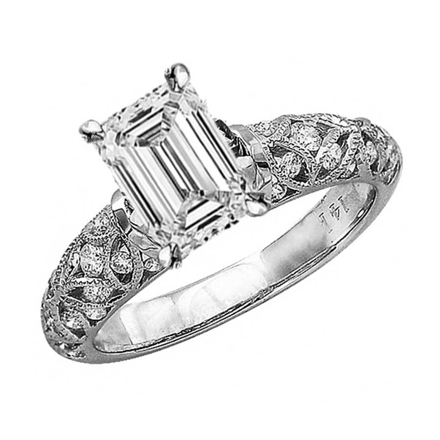 Recently Viewed 14K White Gold Vintage Style